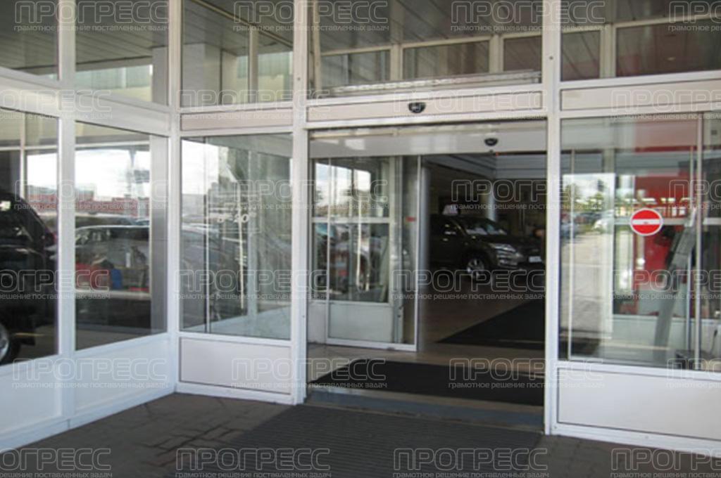 Роллетные ворота Алютех Рулонные ворота для гаража
