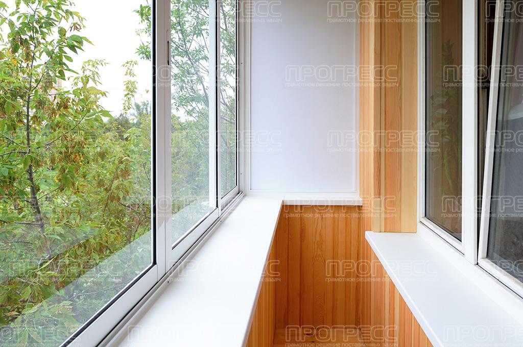 Балкон с окнами до пола дизайн.
