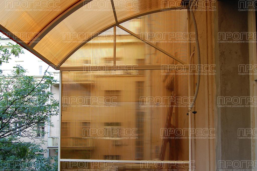 Балкон из поликарбоната фото. - дизайн маленьких лоджий - ка.