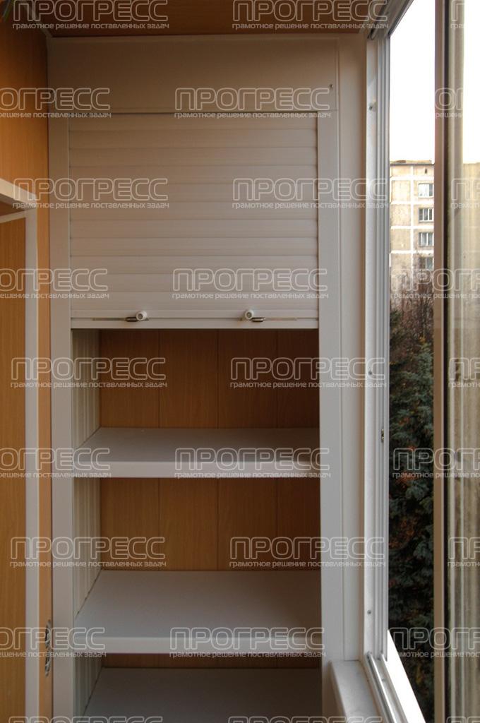 Шкаф из ПВХ рольставни - 1 шт