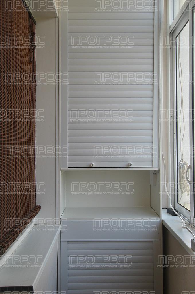 рольставни для балконных шкафов