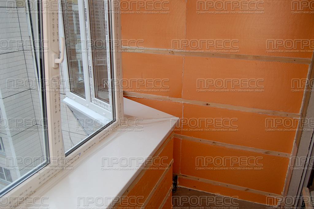 Утепление балконов фото, виды утепления, кладка пеноблоков -.