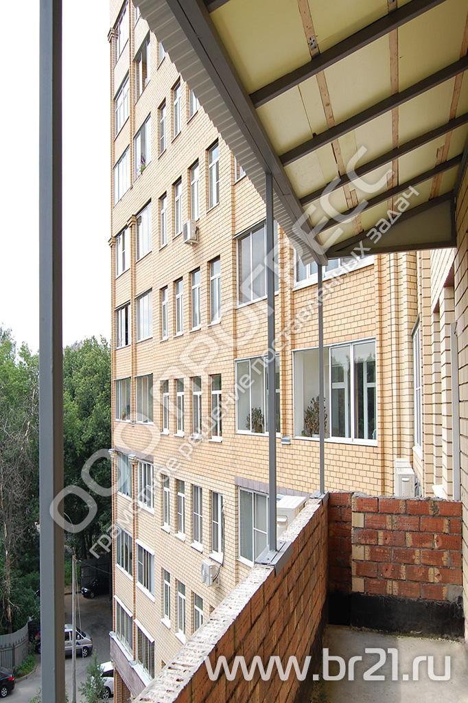 Козырьки над балконом от компанииарс балкон.