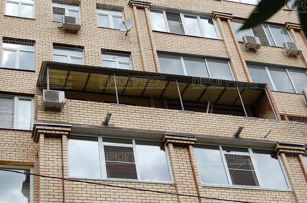 Крыши на балкон фото.