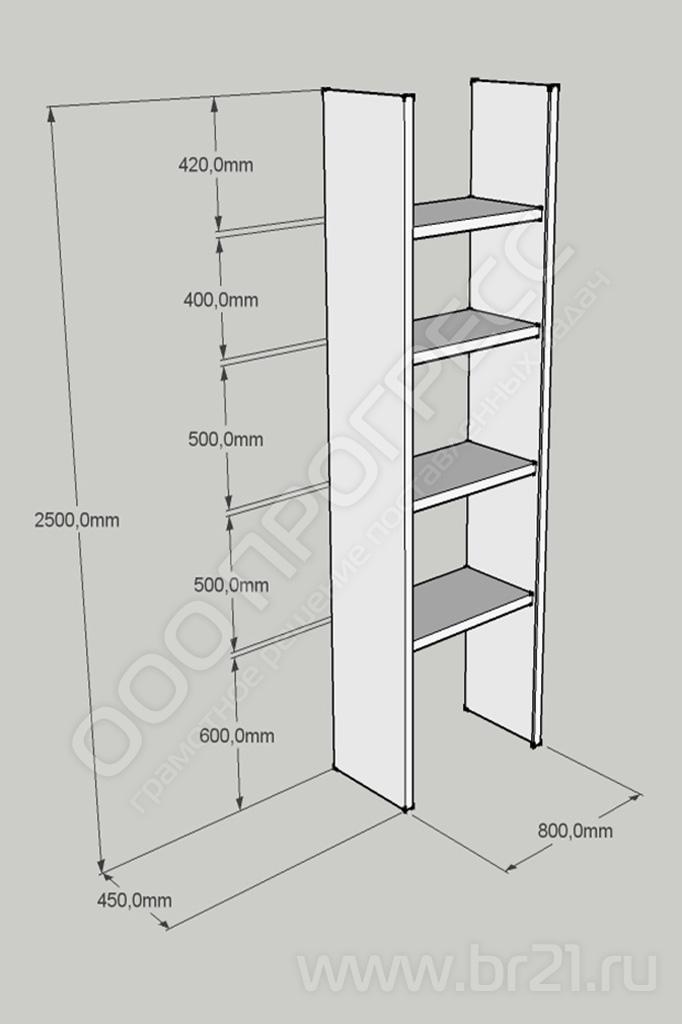 Шкаф на балкон под размер с рольставнями и др. фасадами. фот.