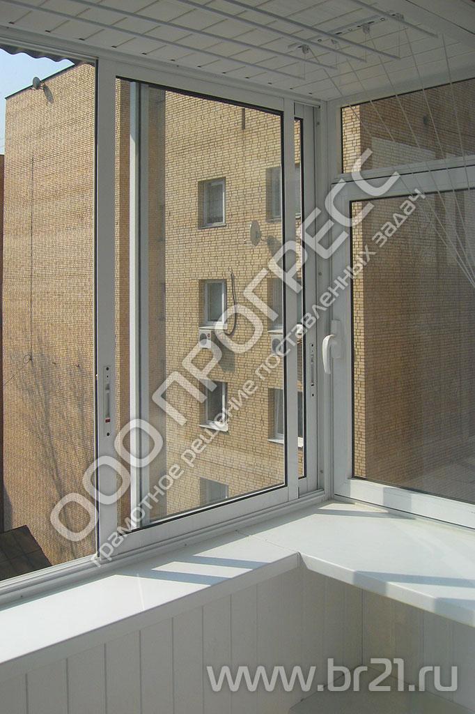 Остекление балконов с выносом, изготовление каркаса выноса н.